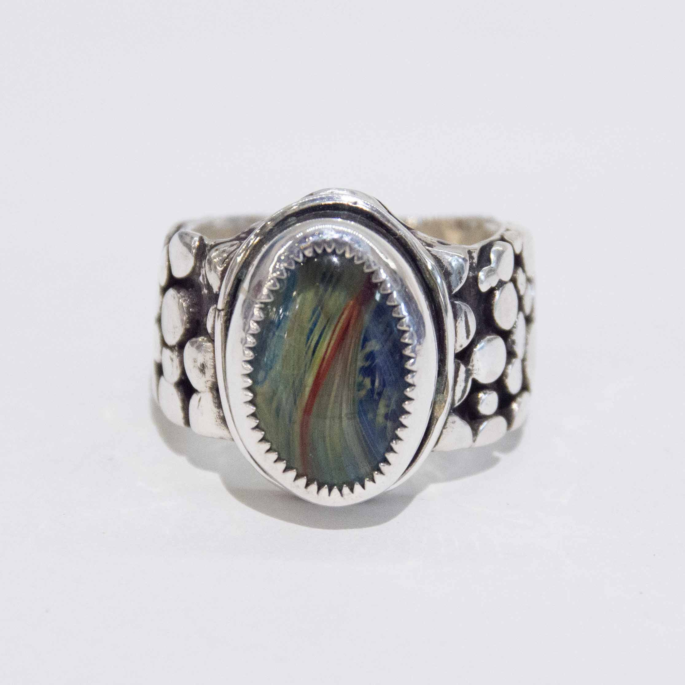 Men's Antique Dragonscale Ring