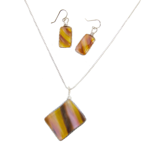 Art Glass Jewelry Set