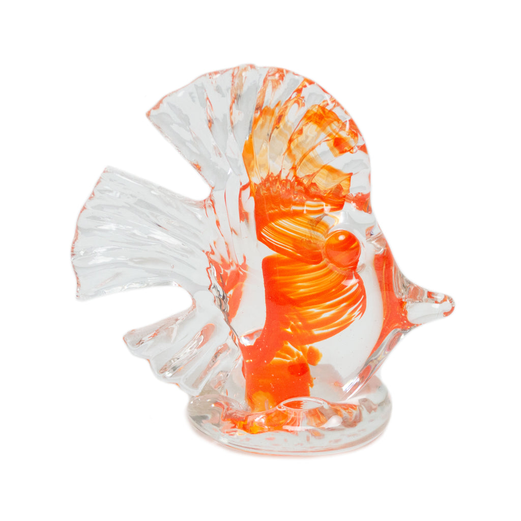 Orange Glass Fish