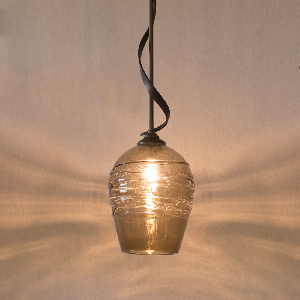 handcrafted pendant lighting for the kitchen