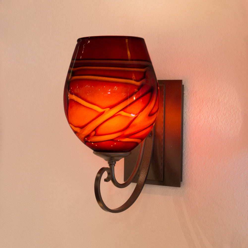 Scroll Sconce