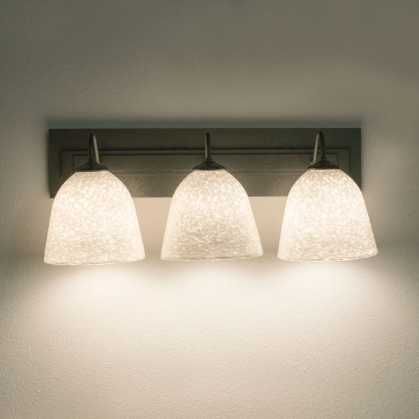 handcrafted bathroom wall lighting