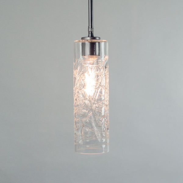 WGW Universal Pendant with Clear Hot Wrap Cylinder
