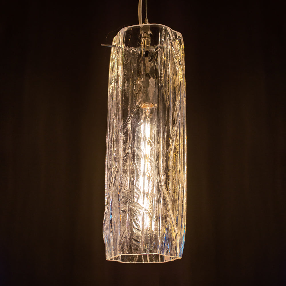 organic art glass lighting for the home