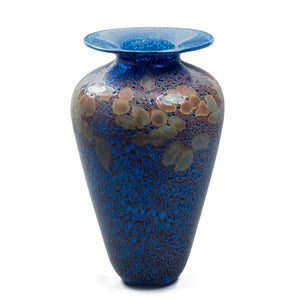 unique handmade art glass vase