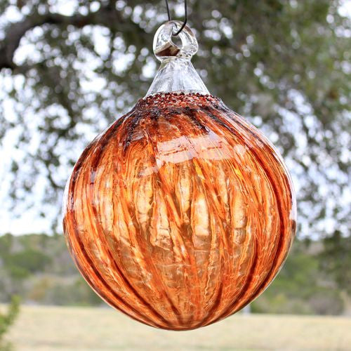 Amber Outdoor Ornament