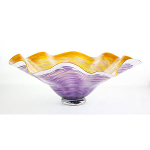 Amethyst Woodgrain Base Bowl 1