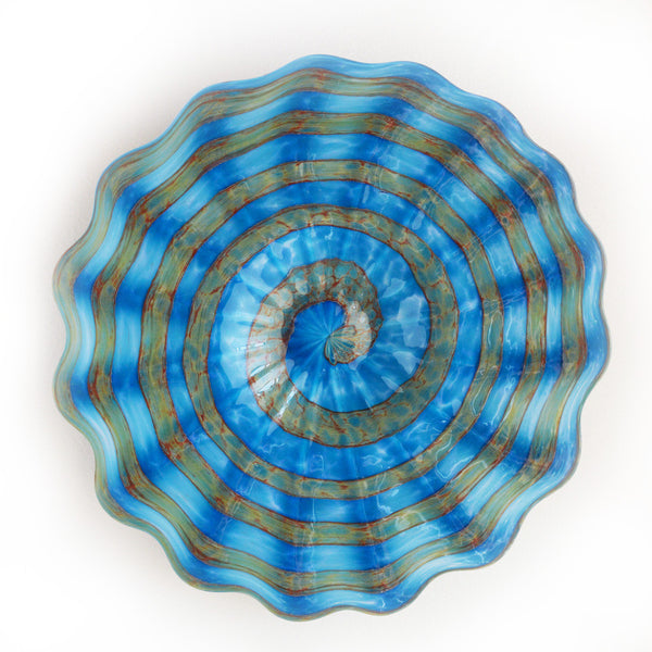 New Beginnings Aqua Platter Large and XLarge