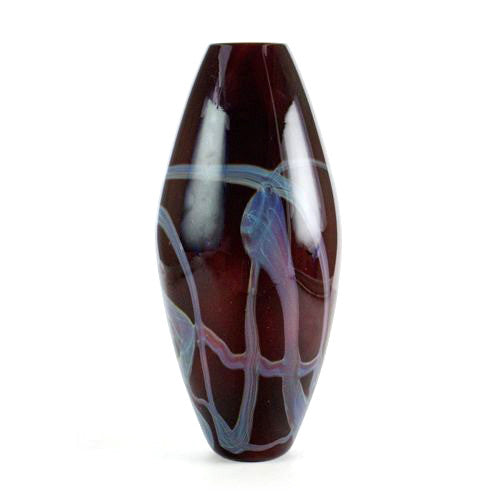China Red Bullet Vase