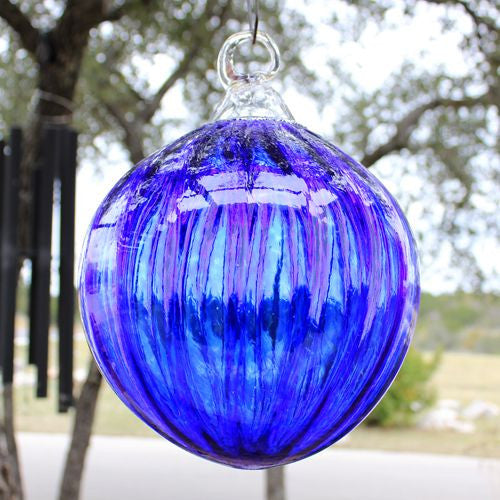 outdoor glass ornament handmade