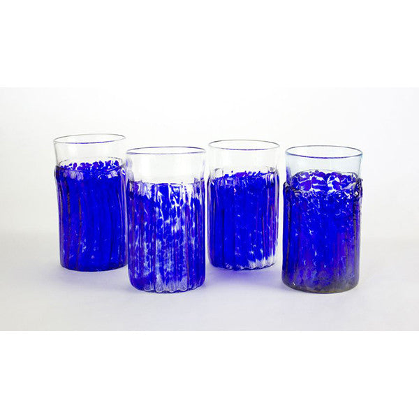 Cobalt Texas Tea Glasses