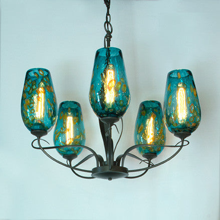 Flora Uplight Chandelier (5 Light)