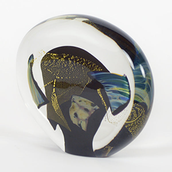 handcrafted art glass sculpture
