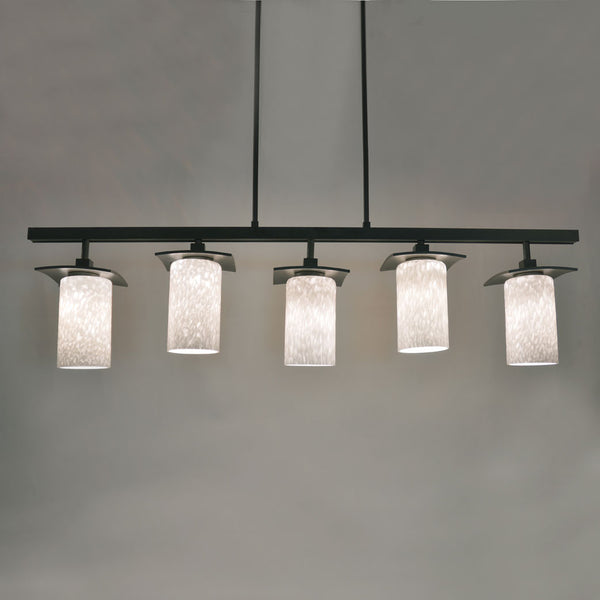five light overhead fixture