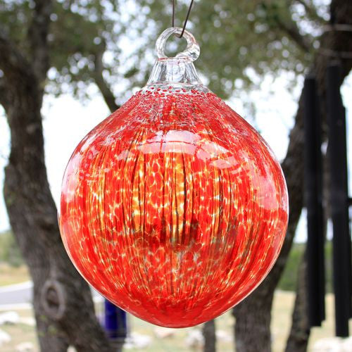 Red Outdoor Ornament