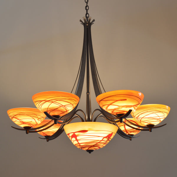 Aegis Chandelier with Bowl (7 Light)