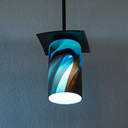 handmade pendant lighting with cylinder