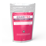 ChariTea - Strawberry Green Tea