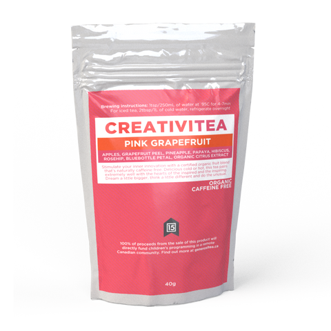 CreativiTea - Pink Grapefruit Herbal Infusion