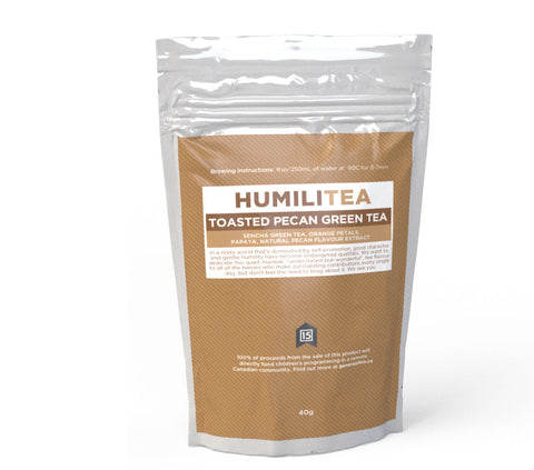 HumiliTea - Toasted Pecan Green Tea