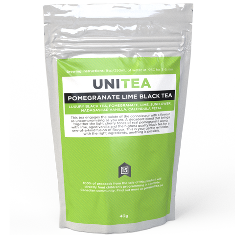 UniTea - Pomegranate Lime Black Tea