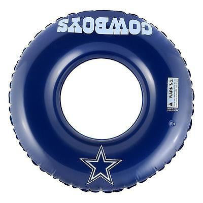 "New Official Licensed NFL Football Team Inflatable 31"" Pool Beach Tube - Pick Team!"