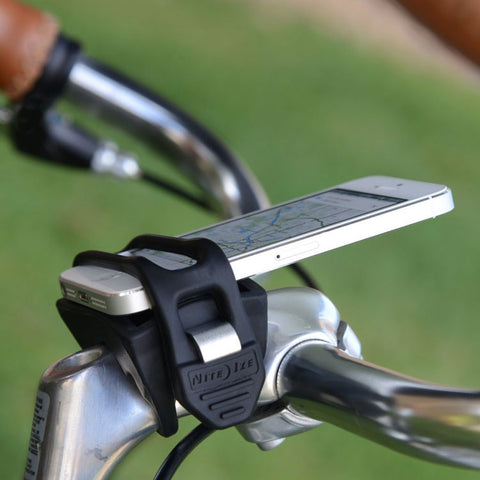 Nite Ize HandleBand Bicycle Handlebar Phone Mount/Holder, Beer Opener