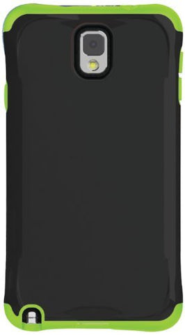 Ballistic Aspira Samsung Galaxy Note 3 - Retail Packaging - Black/Green