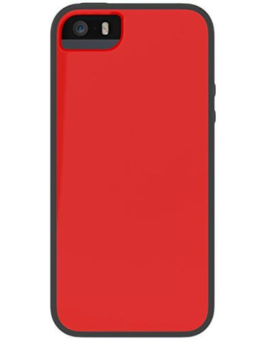 SKECH GLOW FOR IPHONE 5/5S - RED/BLACK
