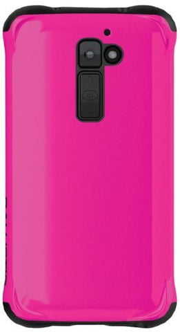 Ballistic AP1232-A435 LG G2 Aspira - Retail Packaging - Neon Hot Pink