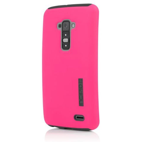 Incipio Dualpro Case for LG G Flex - Retail Packaging - Pink/Gray