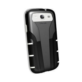 Qmadix QM-FGSS3BKWH-X Protective Skin for Xpression Samsung Galaxy SIII - 1 P...