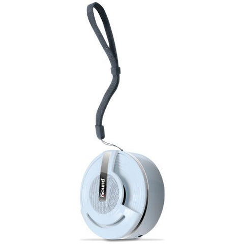 iSound Hang On Bluetooth Speaker with Microphone (white)