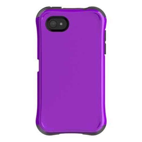 Ballistic Aspira Case for HTC First - Retail Packaging - Purple/Grey