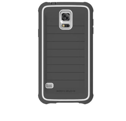 BODYGLOVE SHOCKSUIT FOR GALAXY S5 - CHARCOAL/WHITE