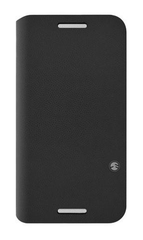 SwitchEasy FLIP Folio Case for HTC One - Retail Packaging - Charcoal Black