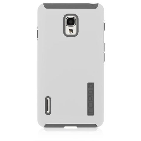 Incipio LGE-213 DualPro for LG Optimus F7 - Retail Packaging - White/Gray