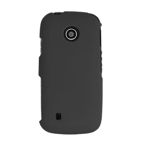 Mobile Line 38404 LG Cosmos Touch SnapOn Case Black [Wireless Phone Accessory]