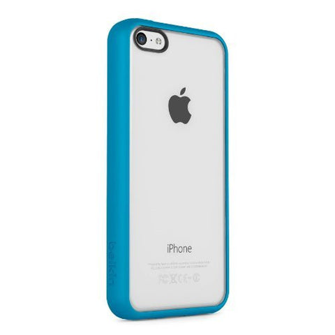 BELKIN VIEW CASE FOR IPHONE 5C - CLEAR/TOPAZ