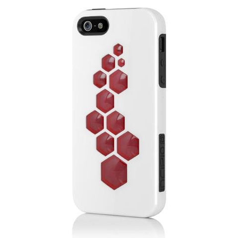 Incipio CODE for iPhone 5 - Retail Packaging - Optical White / Obsidian Black...