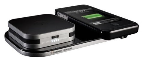 POWERMAT 24 HOUR POWER SYSTEM FOR IPHONE 4/4S (CASE, BATTERY, 2X MAT) - BLACK - FPC - 84878192
