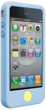 SwitchEasy Colors Pastel Silicone Case for iPhone 4 & 4S - Baby Blue