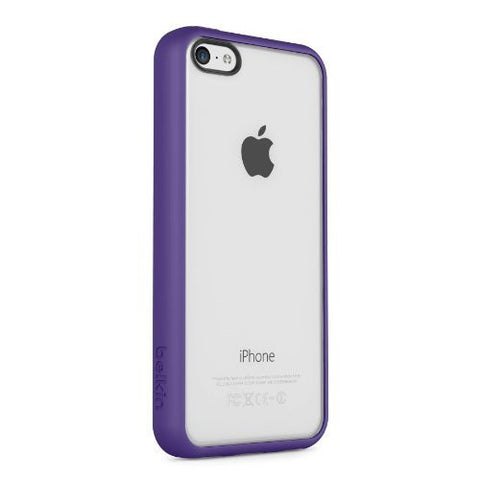 BELKIN VIEW CASE FOR IPHONE 5C - CLEAR/PURPLE
