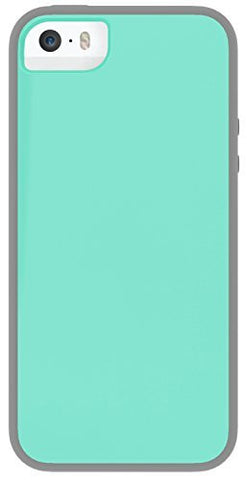 SKECH GLOW FOR IPHONE 5/5S - GRAY/AQUASKY
