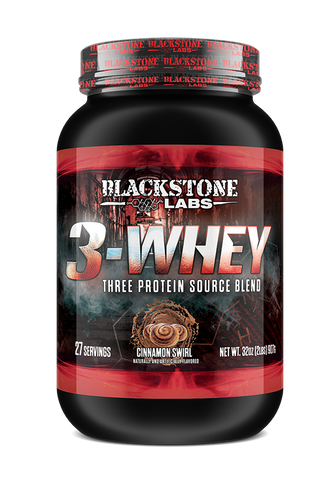 Blackstone Labs 3 Whey Protein Source Blend 2lb - Pick Flavor