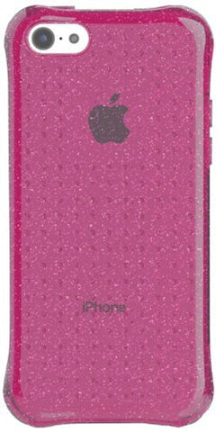 Ballistic iPhone 5c LS Jewel Glitter - Retail Packaging - Fuchsia