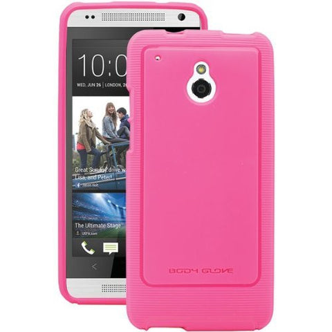 Body Glove Dimensions Pulse Case for HTC One mini - Retail Packaging - Raspberry