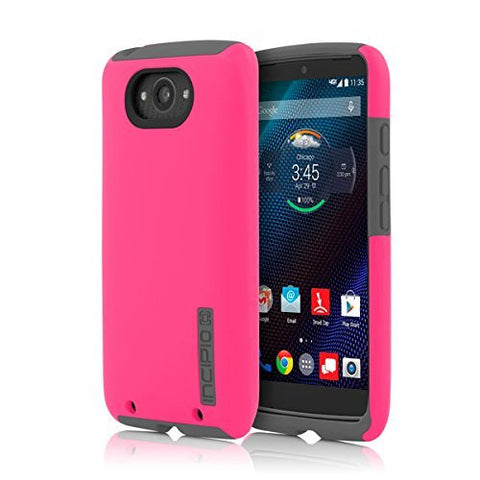 INCIPIO  MOTOROLA DROID TURBO INCIPIO DUALPRO, PINK/GRAY