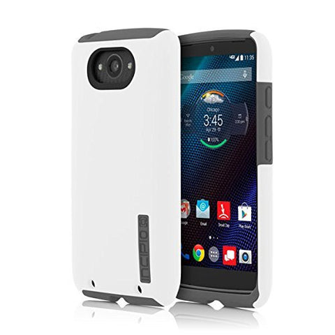 INCIPIO  MOTOROLA DROID TURBO INCIPIO DUALPRO, WHITE/GRAY