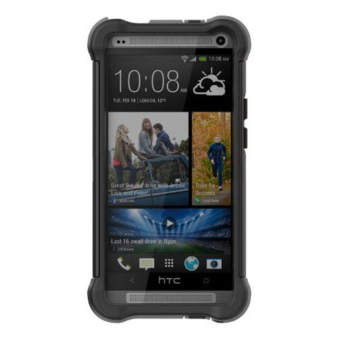 Ballistic SG1134-A065 SG Case for HTC One - 1 Pack - Retail Packaging -  Black